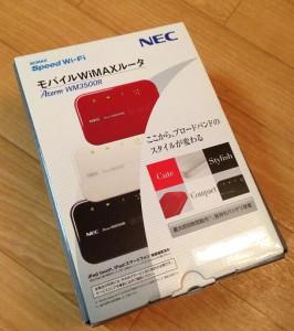 モバイルWi-Fiルーター WiMAX